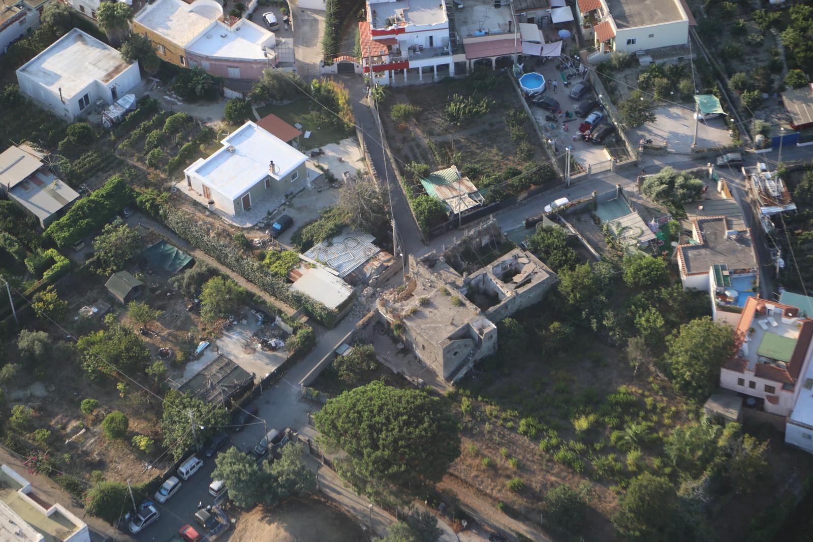 Ischia danni agli edifici in seguito al terremoto del 21 agosto 2017
