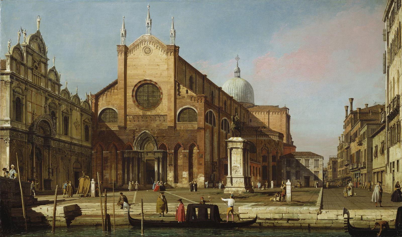 Canaletto, Campo Santi Giovanni e Paolo, 1738 circa.