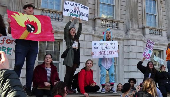 School Students Strike for Climate Action, London February 15 201