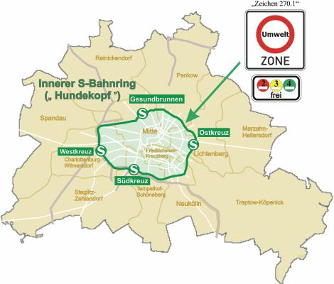 Low Emission Zone di Berlino